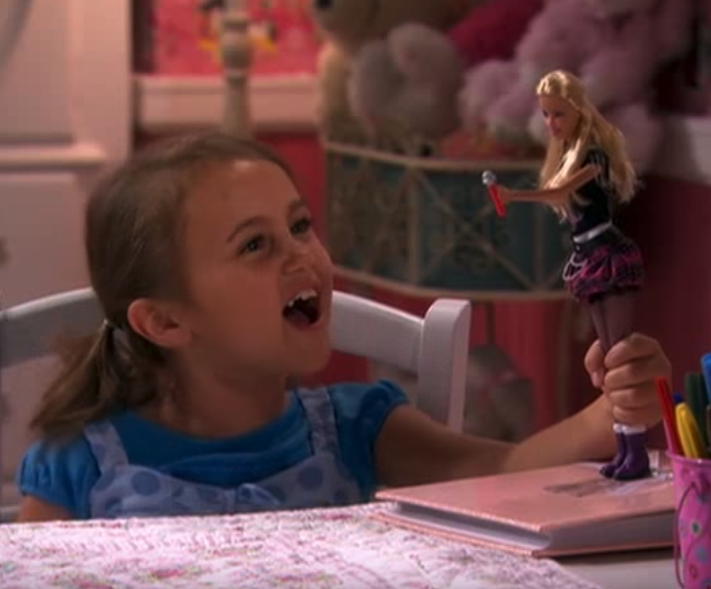 Hannah Montana  almost ended with a young Miley playing in her bedroom, revealing that  the whole series had been a figment of her imagination .