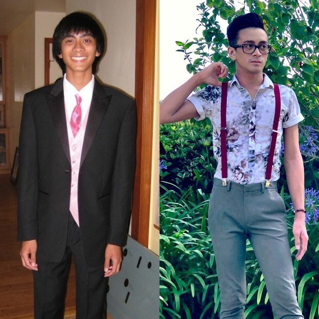 from dorky to chic