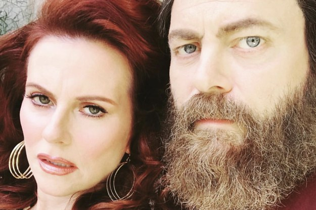 I'm Obsessed With Literally Everything About Nick Offerman And Megan Mullally's Relationship