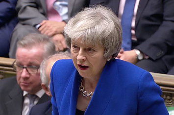 Theresa May Survives No-Confidence Vote In Parliament