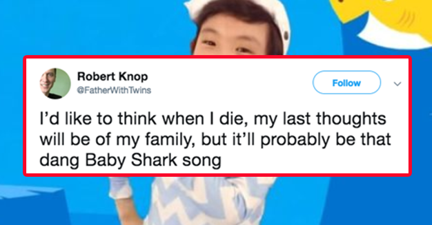 16 Jokes You'll Only Appreciate If The Baby Shark Song Has Hurt You