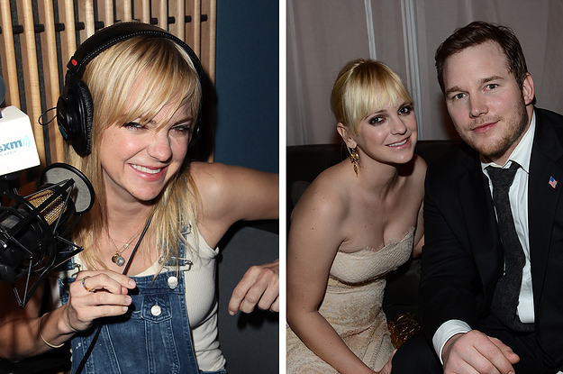 Anna Faris Just Revealed How She Reacted When Chris Pratt Told Her He Was Engaged