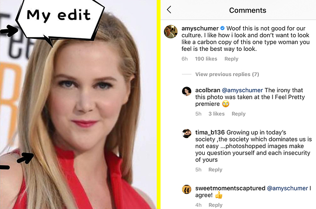 People Are Loving Amy Schumer's Response To An Instagram