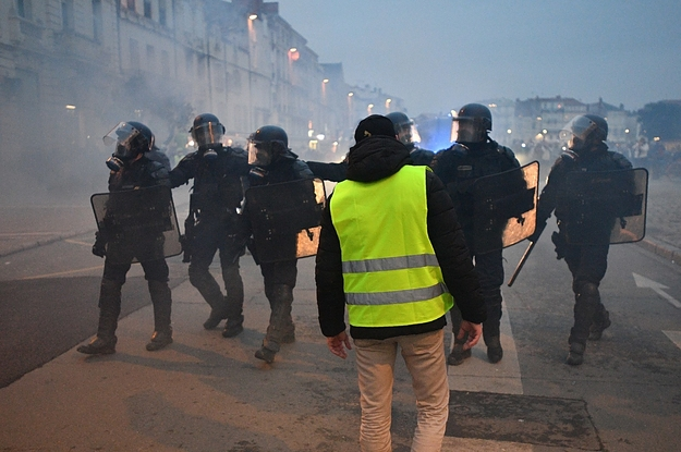Protestors Are Losing Eyes And Hands To Police Brutality In France