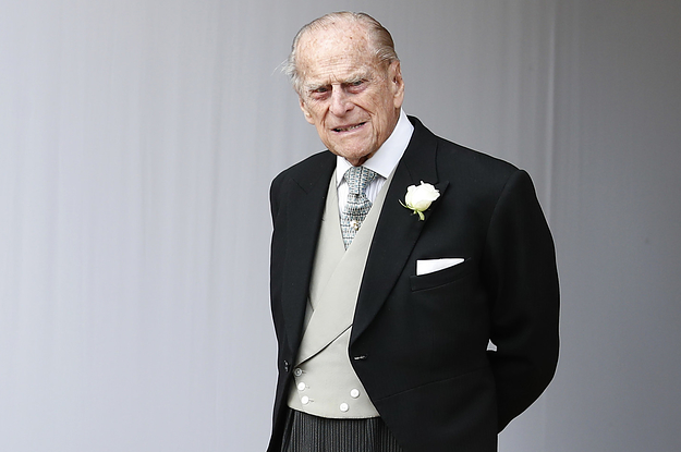 Prince Philip Is OK After He Was In A Car Accident