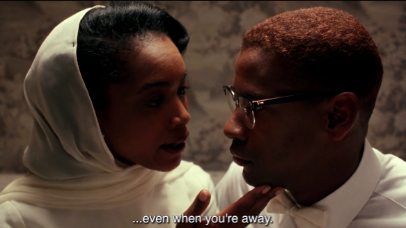 She starred opposite of the great Denzel Washington as Betty Shabazz in  Malcolm X , which won a whole Oscar.