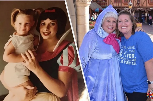 This Woman Had An Epic Disney World Reunion With The Snow White From Her Childhood