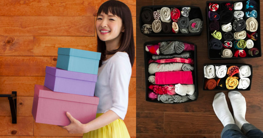 24 Things Marie Kondo Uses On Her Show To Help People Get Organized