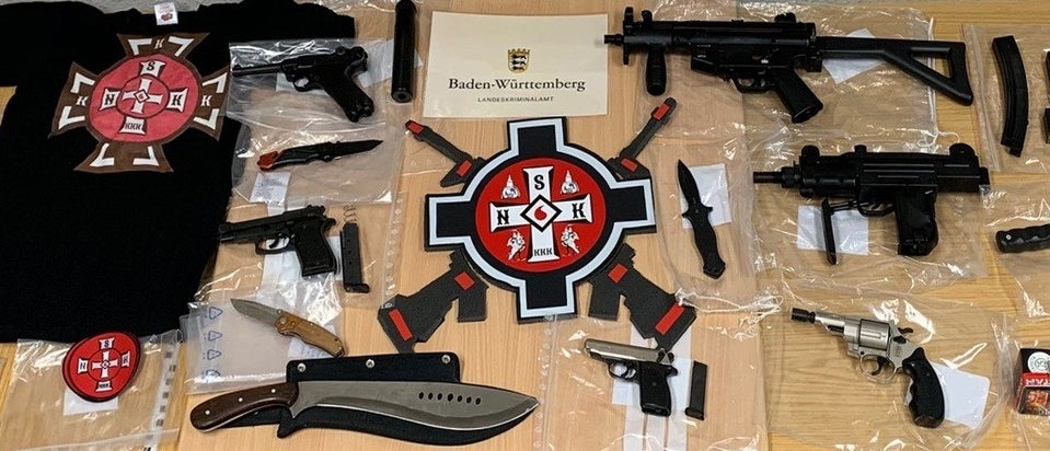 German Police Have Raided The Homes Of Suspected KKK Members