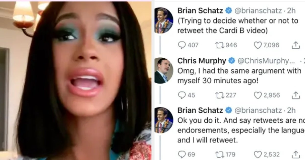 Senators Were Laughably Conflicted About Whether To Share Cardi B's Video On The Government Shutdown