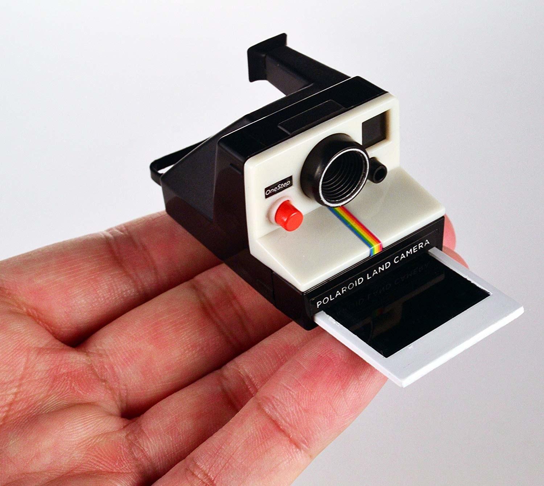 tiny polaroid spitting out tiny image