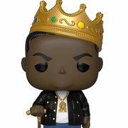 biggie smalls wearing crown