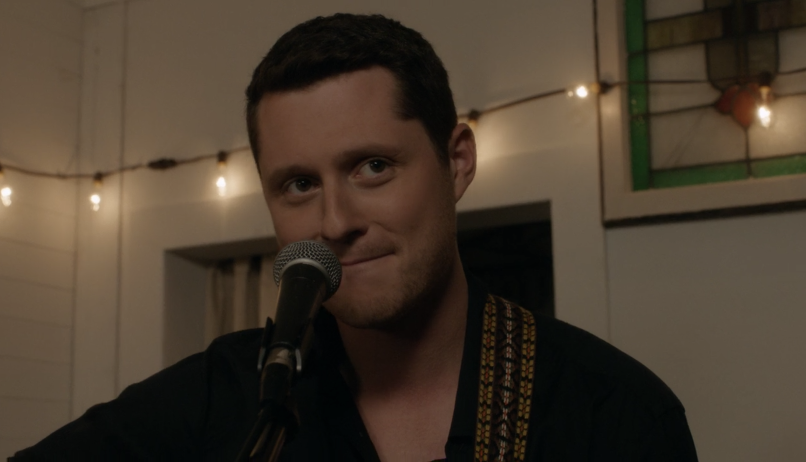 "In  Schitt's Creek , when Patrick sings ""Simply the Best"" to David."