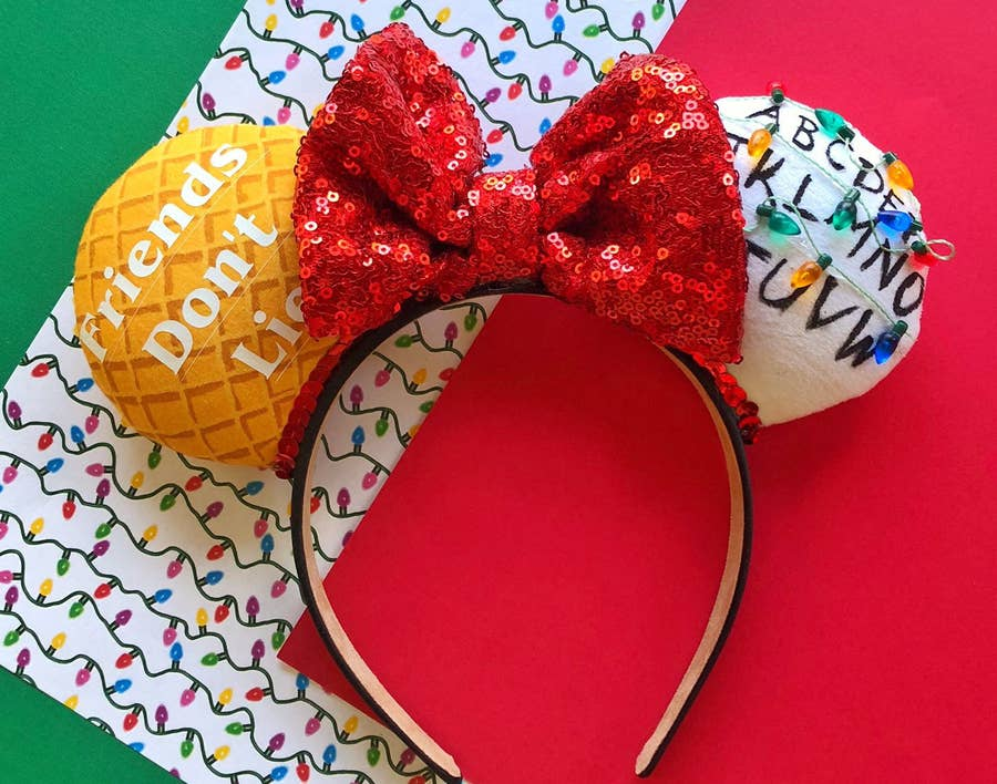 Disney Ears  Holder..New Themed Choices....the perfect place when there off your head...