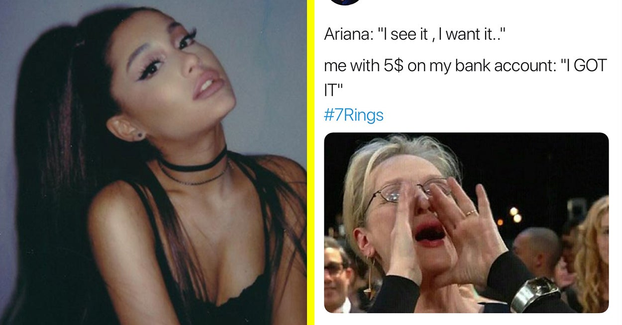 People Are Tweeting About How Broke They Feel After Listening To Ariana Grande's New Song And I Can Honestly Relate