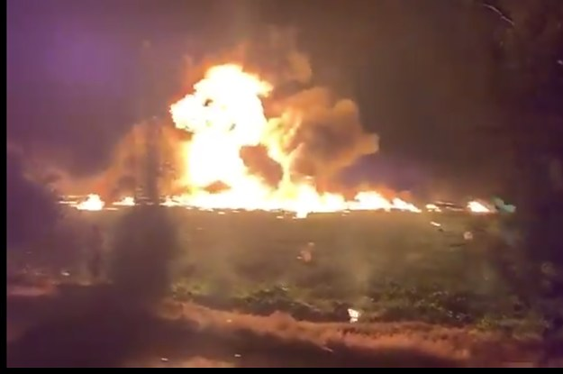At Least 21 People Killed And Dozens Injured After A Gas Pipeline Exploded In Mexico