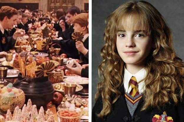 Hogwarts Food Would You Rather