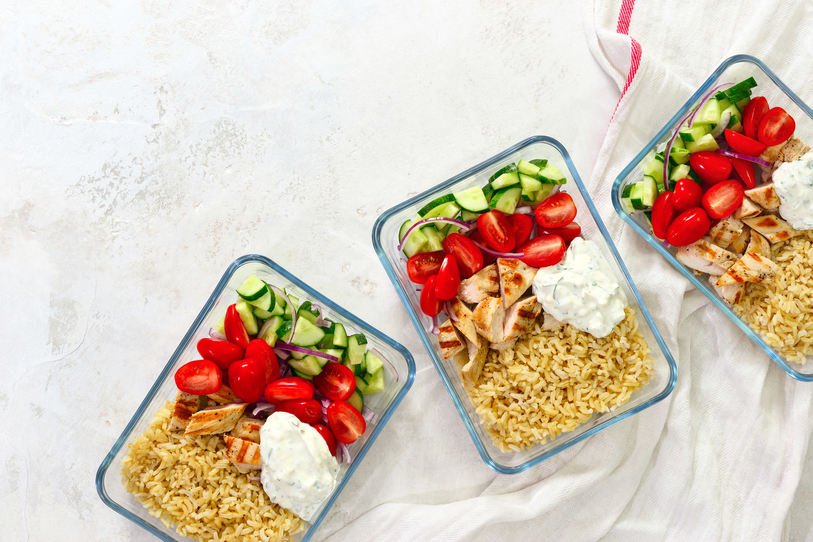 "Meal prep like a pro. -  ""Meal prepping is a total life saver. When I meal prep, I make sure to account for a few easy, speedy meals. That way, when I'm feeling lazy I won't have an excuse to whip up something unhealthy."" —  SophieDizyban"