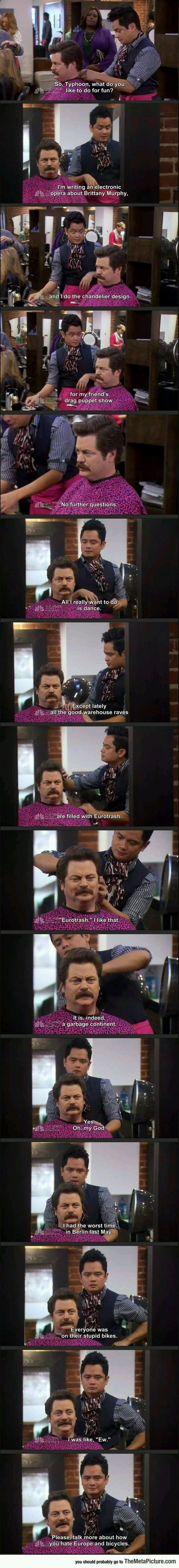 37 Ron Swanson Moments That Will Never Not Be Funny