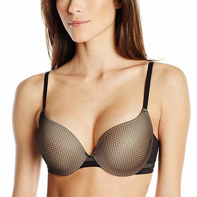 313f92af5f0 An effortless push-up bra with smoothing side wings you can cozily wear  every day.