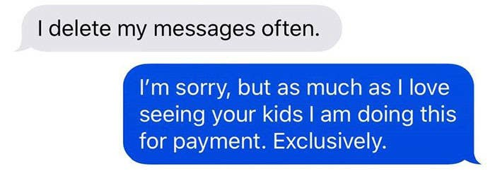 A Mom Refused To Pay Her Babysitter Because She Got Ice Cream And