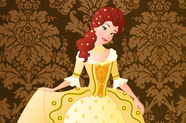 a7cda08e87 26 Historically Accurate Drawings Of Disney Princesses Worth Looking At