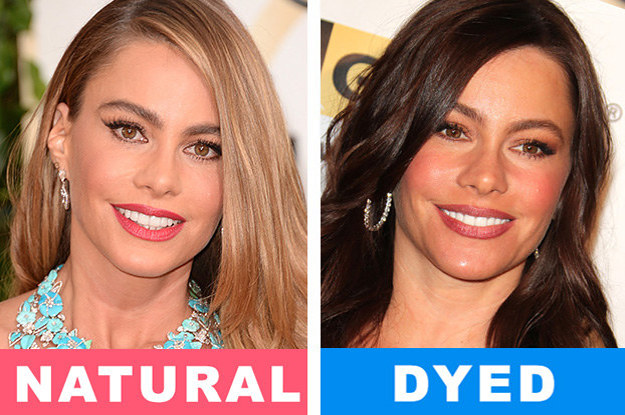 Here Are 15 Celebs Who Have Different Natural Hair Colours To What