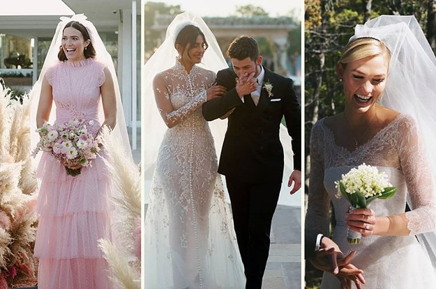 The 44 Most Beautiful Celebrity Weddings In 2018