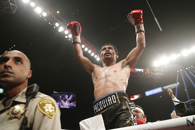 Boxer Manny Pacquiao's Home Was Burglarized While He Was Away At A Fight
