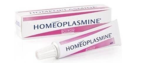 A tube of Homeoplasmine