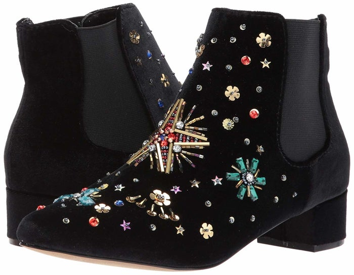 """Promising review: """"These boots are FABULOUS! I ordered a half size smaller because Betsey shoes tend to run a bit large. There's still plenty of room for thick socks. They're really comfortable too! I get compliments every time I wear them."""" —K. H.Get them from Amazon for $34.99+ (available in sizes 5-9.5)."""