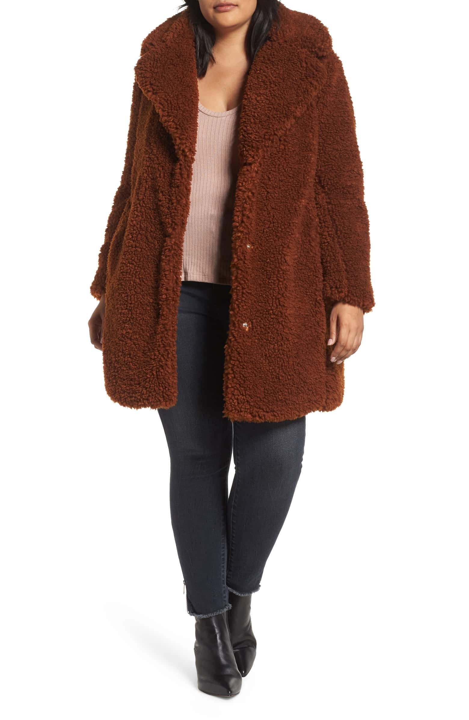 "Promising review: ""What a great coat. It's reversible and comfortable. The first day out I got lots of compliments. It runs large so size down. It's also very warm and great for the colder Maryland winters. So glad I found this coat."" —TamsmdGet it from Nordstrom for $109.90 (originally $168.00, available 1X–3X and two)."