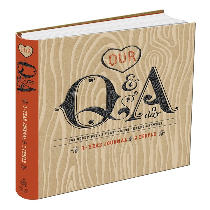 """book titled """"our Q AND A"""""""
