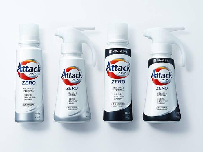 花王は、共働き世帯の増加などを背景に開発した衣料用濃縮液体洗剤「アタックZERO」を4月1日に発売します。10年以上の歳月をかけて開発したという新たな成分「バイオ IOS」を主な成分とした全く新しい洗剤で、「アタック液体史上最高の洗浄力」を実現しているそう。