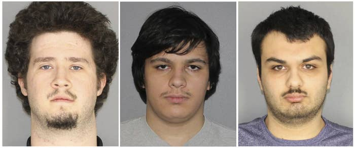 From left: Brian Colaneri, Andrew Crysel, and Vincent Vetromile.