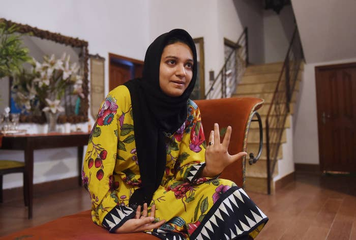 Khadija Siddiqi, Who Was Stabbed 23 Times, Finally Her Sees