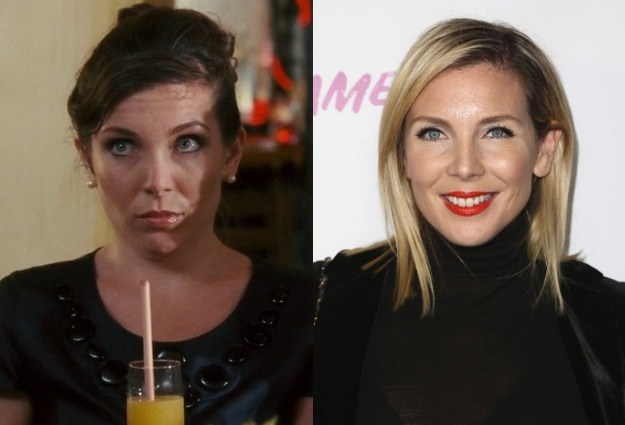 June Diane Raphael as Amanda -  Another fun fact: June co-wrote the script for  Bride Wars  with Casey, who just so happens to be her BFF. She went on to land roles in projects like  Going the Distance ,  Bachelorette ,  Blockers ,  NTSF:SD:SUV:: ,  Burning Love , and  Big Mouth .