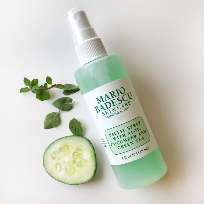 """Promising review: """"This is so refreshing! I use it as a toner and also as a refresher throughout the day. I spray it over my makeup throughout the day, and it rehydrates my skin during the dry season. Plus, it smells delightful!"""" —Jennifer RileyGet it from Amazon for $7+."""