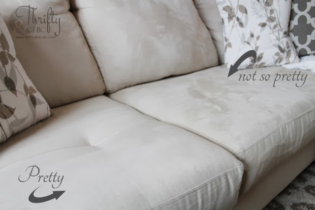 "Image of flipped cushions with the words ""pretty"" and ""not so pretty"""