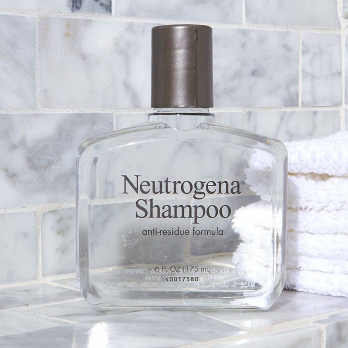 """Promising review: """"I love this shampoo for once-a-month use to remove excess products such as leave-on conditioners etc. I have dry, curly hair and need very moisturizing conditioners and leave-on products, but those can build up over time (even washing hair three times a week). This anti-residue shampoo resets the hair and makes it feel so light and clean. I've been using it for over two decades. Unfortunately it's really hard to find this in brick-and-mortar stores nowadays for some strange reason (and I live in a big-ish city) so I'm happy to find it on Amazon at a great price."""" —DumplingGet it from Amazon for $4.83."""
