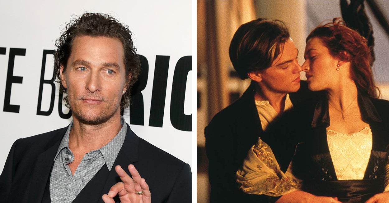 """Matthew McConaughey Revealed What Happened In His """"Titanic"""" Audition And Things Could've Been Totally Different"""