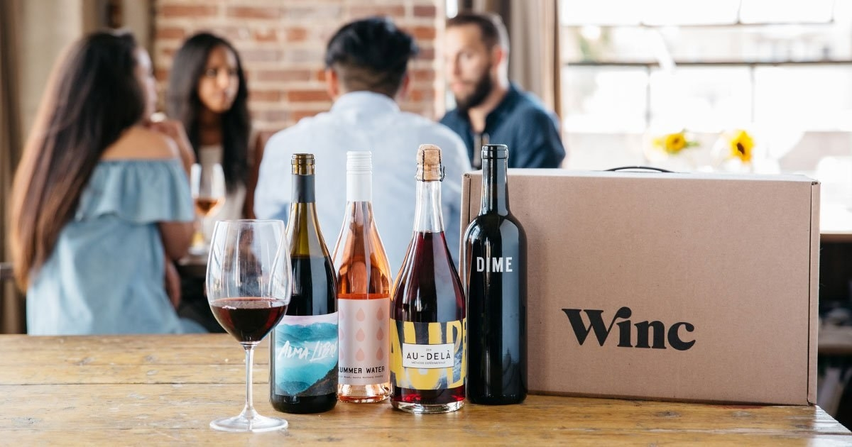 the box of wine