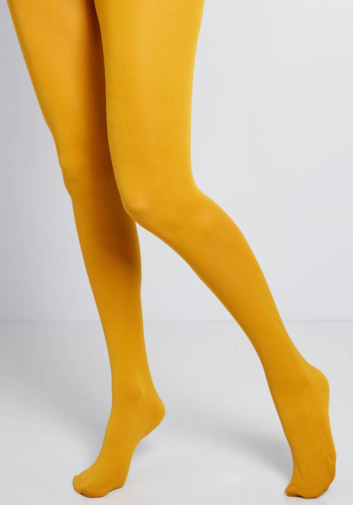 d39ea8eed7220 Modcloth's accent tights will take you from