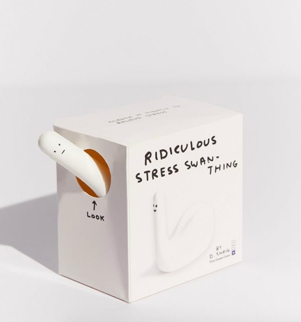 My love for all of David Shrigley's art is true love. Get it from Urban Outfitters for $15.