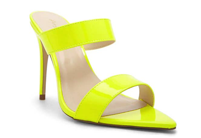 414f1183b8a Neon stilettos to light up your date night like never before.