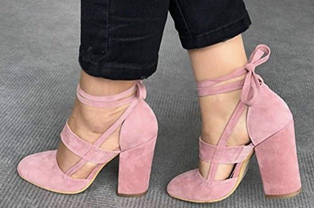 Comfortable Heels You Can Get On Amazon