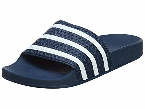 a4269f915a182c Adidas Pool Slides can make it through everyday tasks and tropical vacays —  as long as you remember to bring them back home with you! 🌴