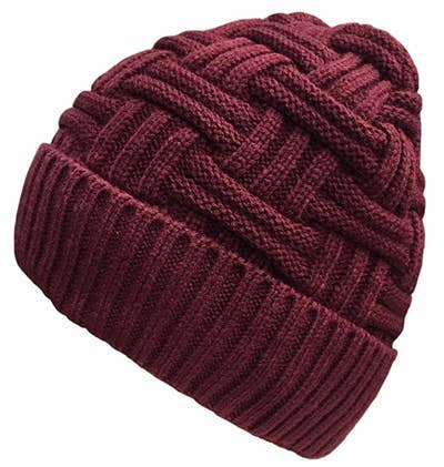 a791dbead5bb96 A basketweave looker with a bit of slouch and a lot of style in case you're  bored to death with your winter gear. Amazon ...