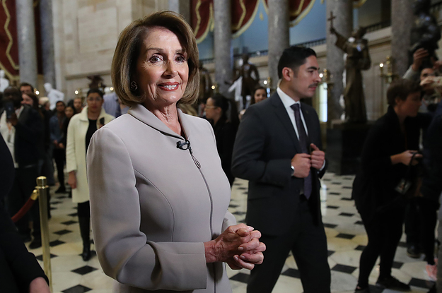 Nancy Pelosi Is Officially Speaker Of The House Again