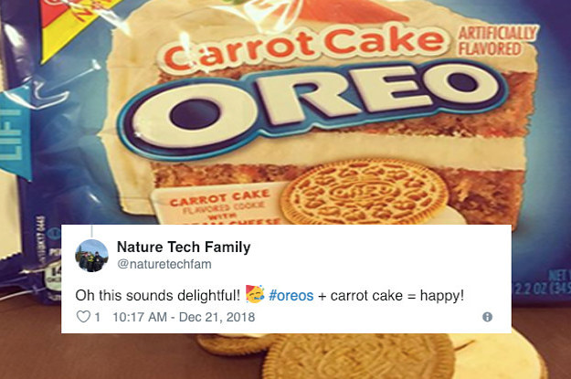 Oreos Just Introduced Their New Carrot Cake Cookies Filled With